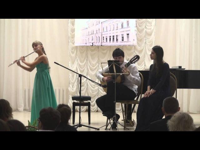 Франческо Мария Верачини. Ларго. Дарья Колточенко (флейта).