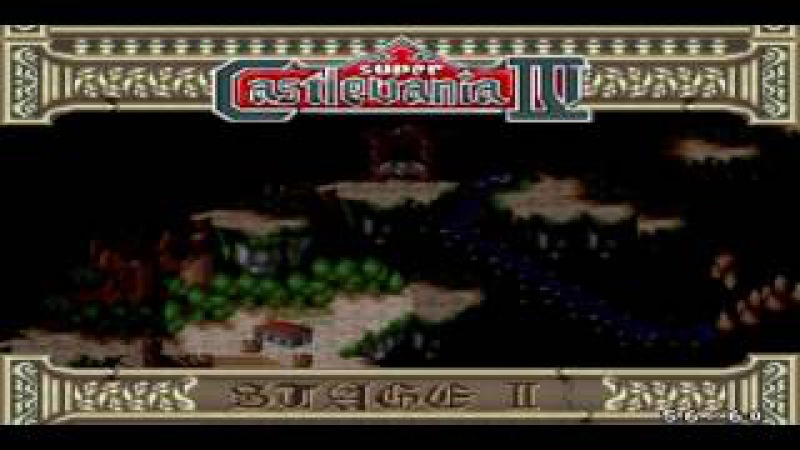 Super Castlevania IV [Snes9x], Firstrun by Azatron, PART 1
