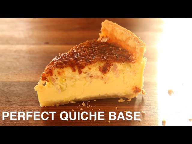 The Quiche Recipe That Will Work With Any Filling