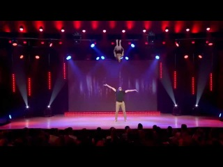 Charlotte & Nicolas - Young Stage International Circus Festival - Hand to Hand Act - Wicked Game