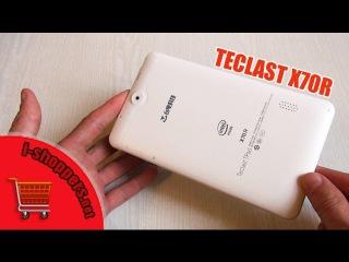 Обзор TECLAST X70R - недорогой 7-дюймовый планшет с GPS, 3G и DualSIM