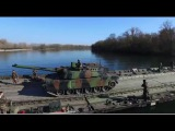 PFM Motorized Floating Bridge Roll Roll Off Ferry