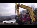 Гусеничный мини-экскаватор Hyundai R55-7