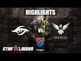 Highlights Team Secret vs Wings [BO1] - Starladder | i-League #13