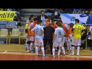 Santiago Futsal vs Catgas E. Santa Coloma Jornada 29