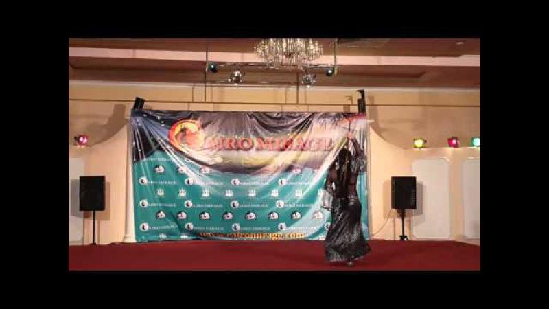 Cairo Mirage 2016. Ignatova Irina.Egyptian folkor.2d place