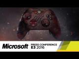 Xbox Elite Gears of War 4 Controller Official E3 2016 Trailer