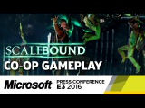 Scalebound Co-op Gameplay Presentation - E3 2016 Microsoft Press Conference