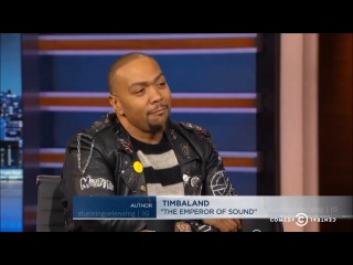 Timbaland Talks About Selena Gomez On The Daily Show With Trevor Noah