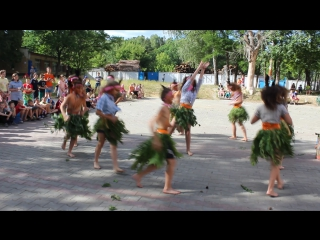 танец индейцев (чунга - чанга)
