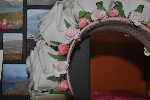 Пост о милых ободках, которые я смастерила сама из цветов, заказанных на Али.