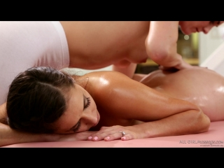 Bianca Breeze, Georgia Jones - Wrong Number (14.03.16)  Oil, Kissing, Pussy Licking, Brunette, Tribbing, Body Massage, Foot Mass