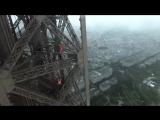 CLIMBING THE EIFFEL TOWER + DRONE