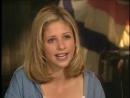 """1997 - Интервью Сары на сьемочной на сьемочной площадке фильма """"Я знаю, что вы сделали прошлым летом"""""""