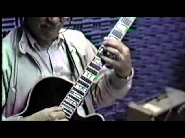 Joe Pass live recording session @ Rockefeller center Summertime
