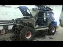 Небольшой обзор текущего проекта по постройке Suzuki Jimny ТР3 38 Bogger