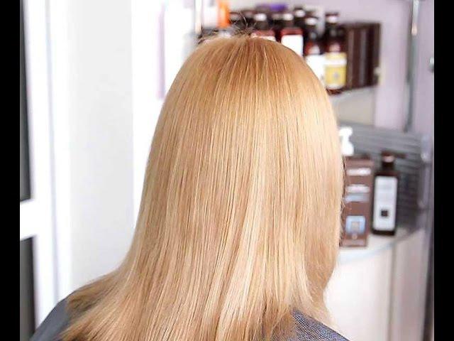 Секреты окрашивания волос блондинки безаммиачной краской