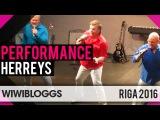 Herreys medley LIVE @ Riga (Sweden Eurovision 1984) wiwibloggs