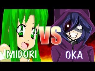 MIDORI VS OKA (Yandere Simulator Original Animation by Zero-Q)