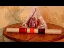 Как разделить толстую пряжу на несколько нитей разного цвета