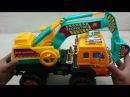 Đồ chơi xe máy múc đất, Toy Excavator, Loader For Kids, Đồ chơi trẻ em