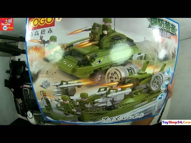Bộ đồ chơi xếp hình LEGO Xây dựng mô hình Quân đội Mĩ Aarmy Acyion 13315, Đồ chơi trẻ em