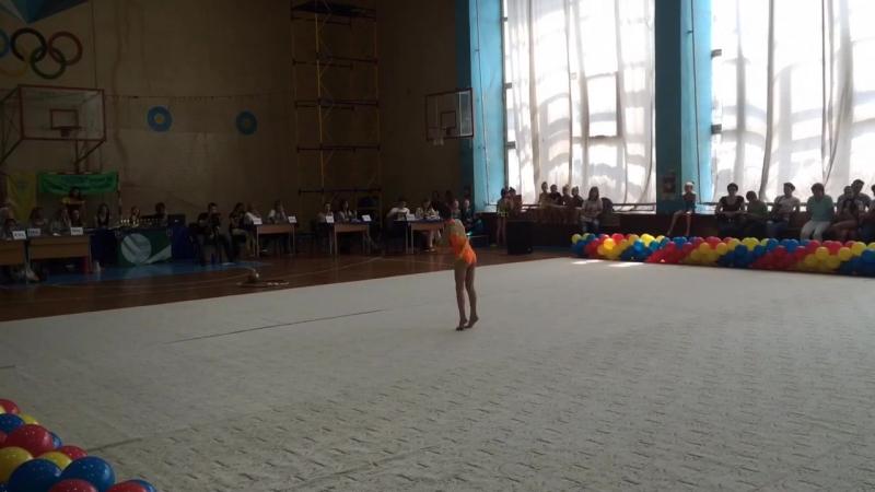 Лиана мяч Запорожье 5.06.2016,2-ое место