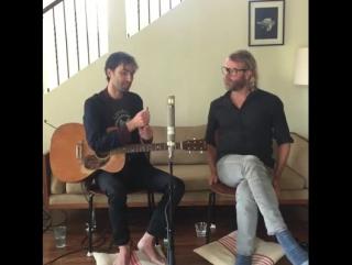 Andrew Bird and Matt Berninger live from the Great room, 25.08.2016