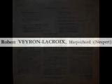 Domenico Cimarosa - Robert Veyron-Lacroix_ Sonata in G major - 1967 Recording