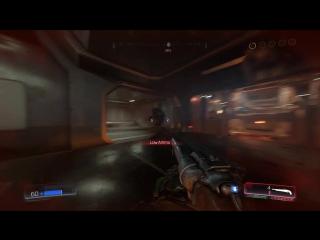 Doom 4K 60FPS Gameplay - GeForce GTX 1080 + Nightmare Quality