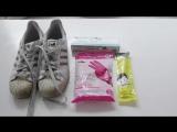 Как отчистить белые кроссовки