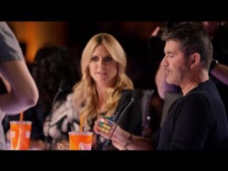 Steven Brundage: Magician Stuns Simon Cowell with Rubik's Cube Tricks - America's Got Talent 2016