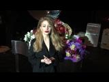 Тина Кароль благодарит за победу в номинации  «Певица года» на церемонии YUNA-2015