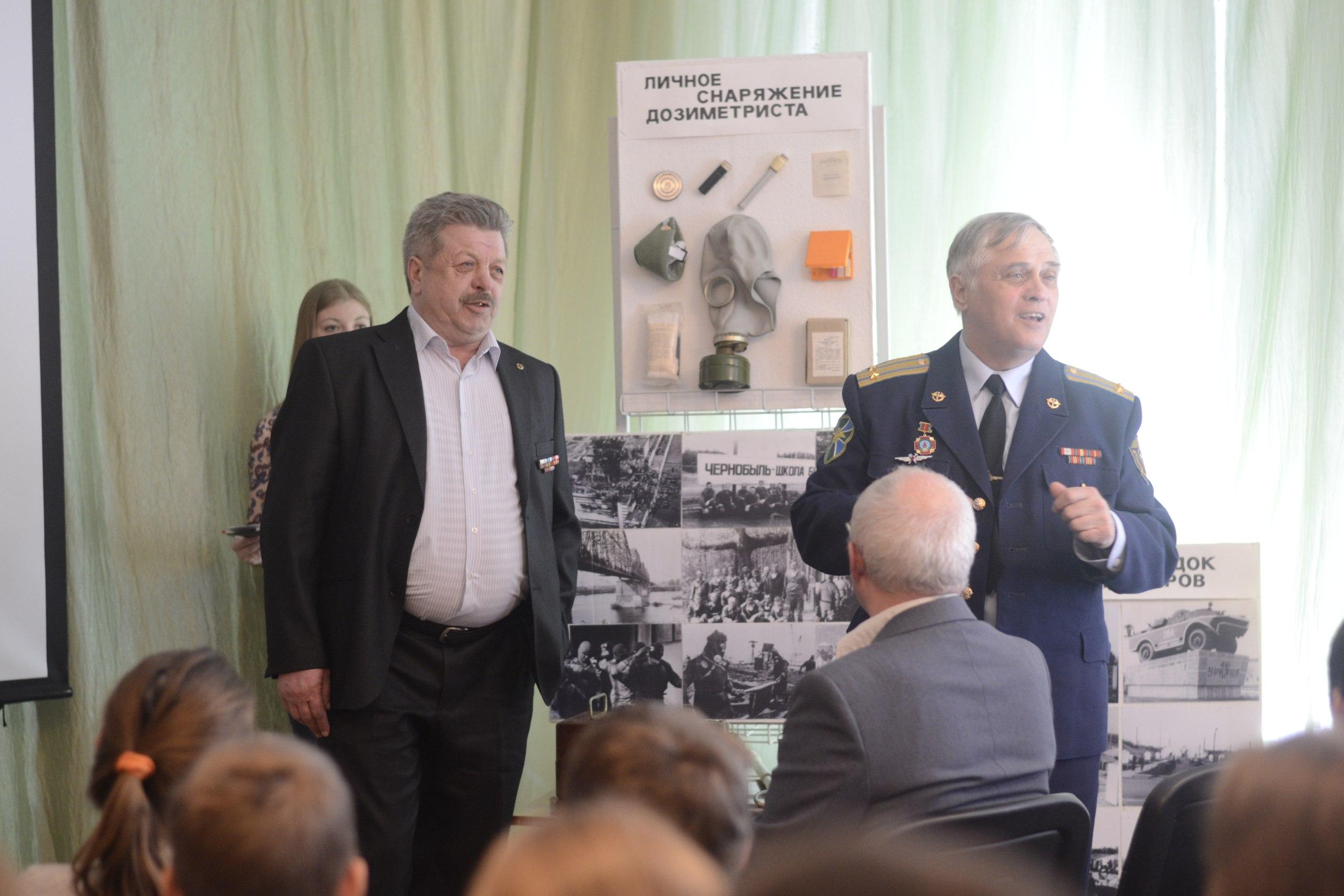 В Качканарской библиотеке состоялась встреча с чернобыльцами