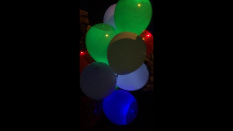 Светящиеся шарики от Салют №1