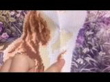 видеообзор вышивки из бисера