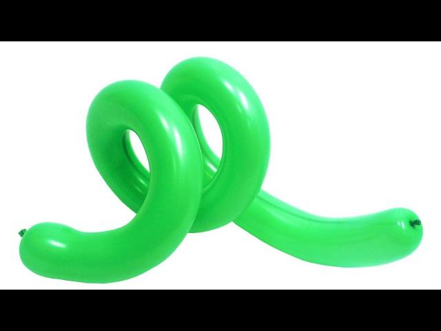 Спираль №3 из воздушных шаров