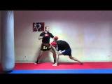 тайский бокс отработка прямых и боковых ударов