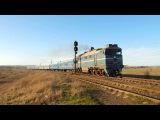 2ТЭ116-1603 Б с последним поездом Симферополь - Москва.