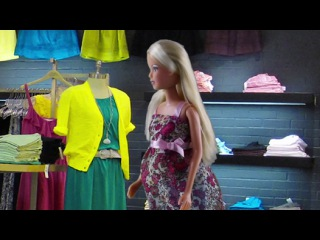 Барби и Кен. Беременная кукла Штеффи РОЖАЕТ. Игрушки для детей. Barbie doll - Видео Dailymotion