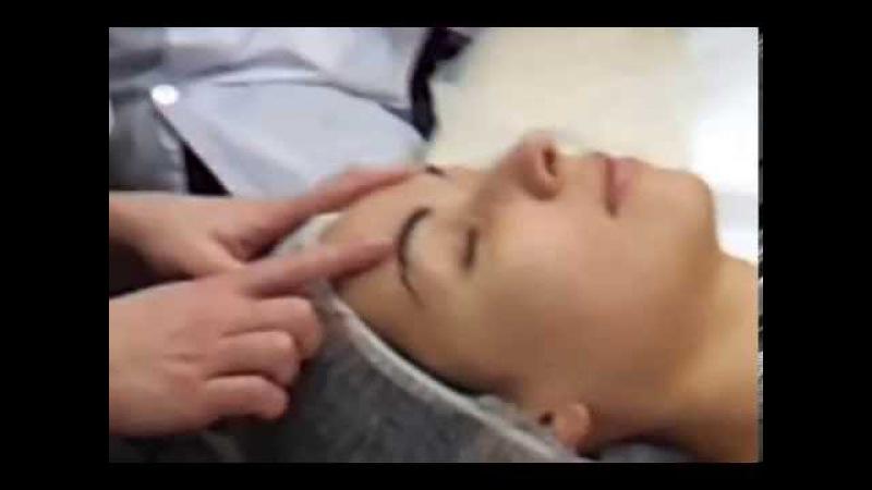 Обучающая техника массажа лица от французских косметологов.