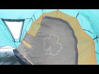 Кемпинговая палатка Greenel «Монахан 4» внутри