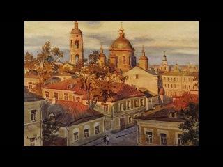 Акварели Сергея Николаевича Андрияки. Пейзажи. Архитектура
