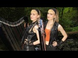 EYE OF THE TIGER (SurvivorRocky III) Harp Twins - Camille and Kennerly HARP ROCK