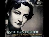 Hugo Wolf Kathleen Ferrier, 1949 Norwegian Recital - Verborgenheit (Seclusion) - M