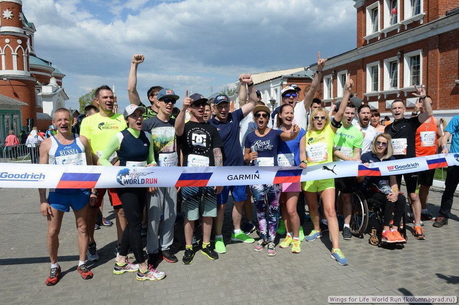 Wings for Life World Run (5 фото) Фото Коломна, Спорт в Коломне спорт Коломна Фото Wings for Life World Run 2016
