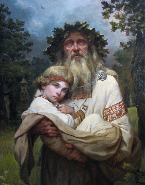 Русь былинная в работах художника Андрея Шишкина