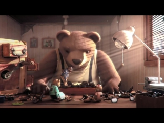 Аним.фильм_ Медвежья история _ История медведя _ Bear Story _Historia de un oso