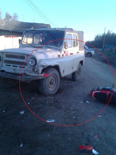 В Таттинском районе в ДТП пострадали подростки