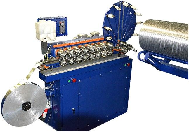 Оборудование для производства гофрированных воздуховодов